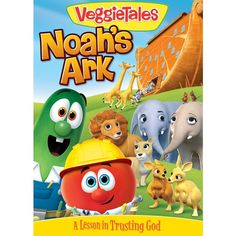 "VeggieTales ""Noah's Ark ~ A Lesson In Trusting God"" DVD Review & Giveaway (US) 3/30"