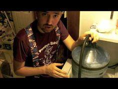 Too funny DIY rock tumbler video
