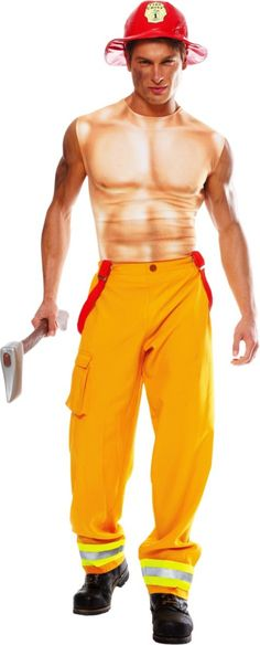 Sexy Firefighter Costume for Men - Party City