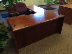 Costco Augusta L Shaped Desk And Hutch Home Office