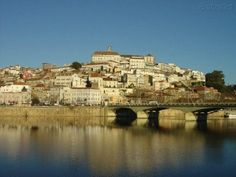 Coimbra Algarve, Coimbra Portugal, Places Ive Been, Places To Go, Before I Die, Paris Skyline, History, World, City