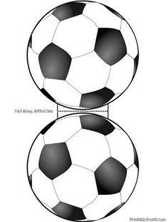 printable soccer card template: