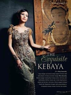 another short sleeved kebaya