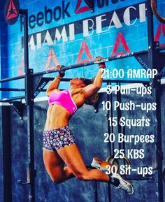 """60 gilla-markeringar, 1 kommentarer - Reebok CrossFit Miami Beach (@reebokcfmb) på Instagram: """"Saturday 