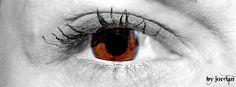 athina #brown #eye #blackandwhite