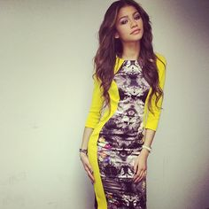 "Zendaya is such a beautiful actress because I loved her favorite movie called ""Zapped"" on Disney Channel."