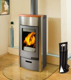 We Want To Install Freestanding Wood Stove/fireplace...love This One Neue