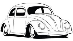 Beetle Coloring, Vw Beetles, Bug Coloring, Volkswagen Beetles, Coloring Pages, Coloring Book, Coloring In Pages, Vw Beetle Line Drawing Png