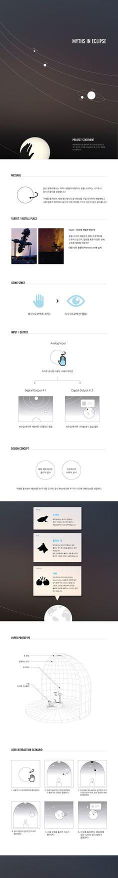 Hwang Hye Min | Myths In Eclipse | Information Visualization 2016│ Major in Digital Media Design │#hicoda │hicoda.hongik.ac.kr