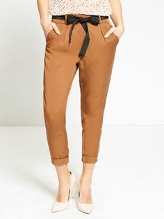 Pantaloni fluidi in tencel 4
