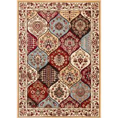 Well Woven Victorian Panel Area Rug