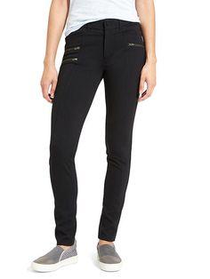 Ponte Moto Pant (for dance) 16 Black