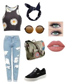Designer Clothes, Shoes & Bags for Women Lime Crime, Boohoo, Topshop, Marvel, Shoe Bag, Polyvore, Stuff To Buy, Shopping, Accessories