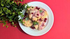 Diétás ribizlis túrós desszert. Kattints a receptért. Cauliflower, Muffin, Vegetables, Food, Cauliflowers, Essen, Muffins, Vegetable Recipes, Meals