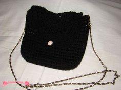 Clutch o bolso de fiesta negro