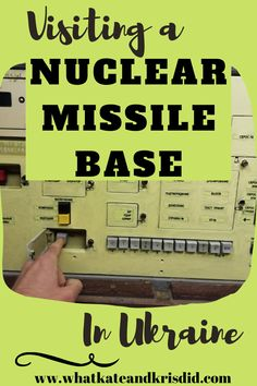 Did you know that you can visit a nuclear missile base in Ukraine? The Strategic Missile Forces Museum near Uman, between Kyiv and Odessa is a real decommissioned nuclear missile silo where you… Travel Europe Cheap, Europe On A Budget, European Destination, European Travel, Poland Travel, Destinations, Travel Guides, Ukraine, Adventure Travel