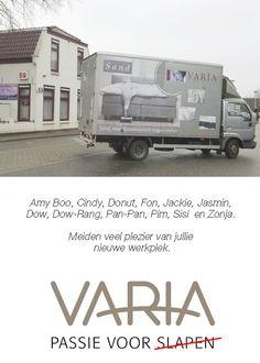 Varia vindt ultieme beddentesters.
