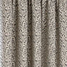 Grey Willow Lined Pencil Pleat Curtains   Dunelm