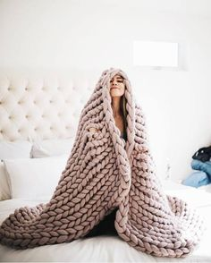Stay cozy this winter with Etsy. The artists on Etsy have everything you need for a warm cozy winter. Grab a warm sweater, hot chocolate and stay warm! Knitted Blankets, Merino Wool Blanket, Blanket Crochet, Home Shooting, Chunky Knit Throw, Cozy Blankets, My New Room, Warm And Cozy, Bedding Sets