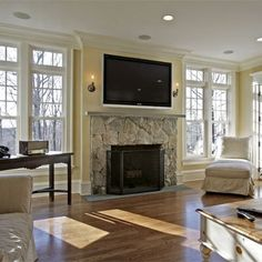 Fireplace on pinterest fireplaces fireplace surrounds - Muebles de chimenea ...