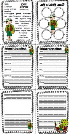 Johnny Appleseed Story & Activities {Monday Meals}