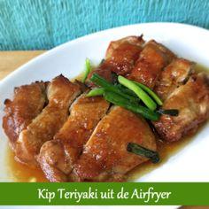 Chicken Teriyaki från Airfryer - The Daily Food Teriyaki Chicken, Grilling Chicken, Gourmet Recipes, Healthy Recipes, Singapore Food, Greek Chicken, Air Fryer Recipes, Air Fryer Chicken Recipes, Quick Meals