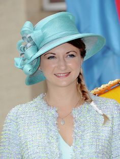 luxembourgroyals:Hereditary Grand Duchess Stephanie celebrating...