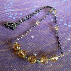 Golden Pond Necklace by MangoTease