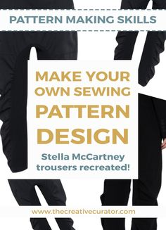 How To Make Your Own Sewing Pattern Design - The Creative Curator