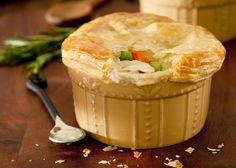 Bethenny's Lighter Chicken Pot Pie Recipe