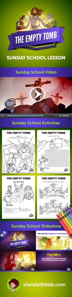 John 20 The Empty Tomb Kids Bible Story In We Read