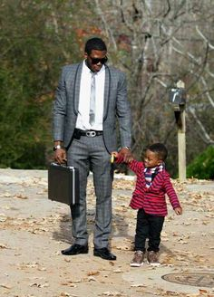 Fathers make time for their children and are active in their lives daily.