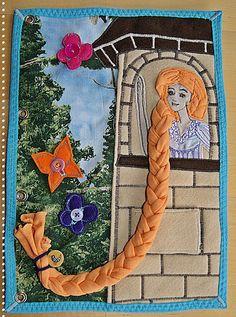 verplüscht und zugenäht: Seite 6 - Es wird märchenhaft... Alternative braiding page - Rapunzel - inspired.  For inspiration only.