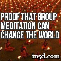 Meditation has been proven to literally transform the world by reducing global crime rates, violence and casualties.