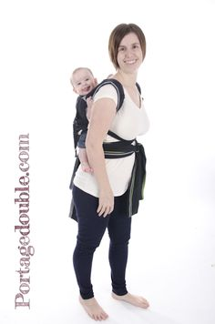 Tutoriel sur l'installation d'un Mei Tai au dos - Un porte-bébé abordable et facile à utiliser! / Tutorial on how to install a Mei Tai on your back - A baby carrier easy to install and affordable!