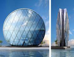 Al Dar Headquarters, Al Raha Beach, Abu Dhabi, United Arab Emirates | MZ Architects.