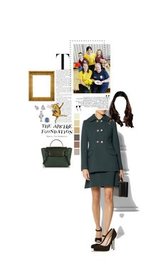 """Untitled #2537"" by duchessq ❤ liked on Polyvore featuring Dolce&Gabbana, Sergio Rossi and Cartier"