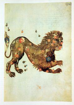 Leo from the Liber locis stellarum fixarum 964 of Abd ar-Rahman as-Sufi Antique Illustration, Illustration Art, Illustrations, Constellations, Virgo, Celestial Sphere, Astronomy Pictures, Spiritus, Historical Art