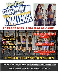 2015 New Year Challenge