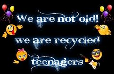 recycl teenag, funni, baby boomers, thought, number