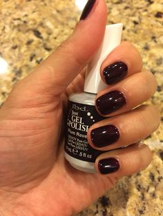 ibd Just Gel Polish Plum Raven