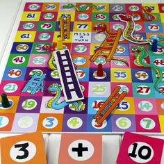Takes And Adders Snakes And Ladders