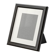 """IKEA - GUNNABO, Frame, 8x10 """", , You can choose to frame your picture in different ways; close to the front or behind the box frame insert to add depth. You can use with or without the accompanying mat.Can be used hanging or standing, both horizontally and vertically, to fit in the space available.The mat is acid-free and will not discolor the picture.Front protection in durable plastic makes the frame safer to use.Can also be used without mat, to take a larger picture."""