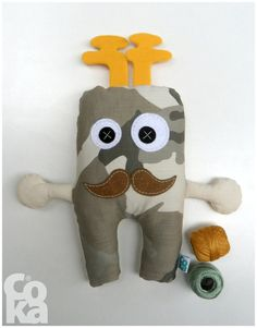 Hipster gift Tooth fairy gift Tooth Stuffed Toy Soft by BeMyCoka