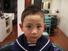 子供!CODE101;髪型!CODE101;男の子 短髪,ソフトモヒカン,アシメ,長め.ツーブロック の画像   美人部