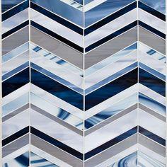 "Oceanside Glasstile...Collection Name: Devotion...Color Name: Blue Haven...Components: Transparent Smoke, ...Components: Light Smoke, Blue Cloud, ...Components: Sail, Persian Blue...Item Description: Echo...Square Feet Per Sheet: 1.3...Sheet Size: 15 9/16"" x 11 15/16""...Thickness: .125""...Sample Item Number: Contact Us"