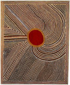 "Mick Namarari Tjapaltjarri, Bandicoot Dreaming, 1991 // ""It is by the acquisition of knowledge, not material possessions, that one attains status in Aboriginal culture. Art is an expression of knowledge, and hence a statement of authority...since designs embody the power of supernatural beings, they are intended to be sensed more than viewed"" (Wally Caruana, ""Aboriginal Art (World of Art)"". 2003)"