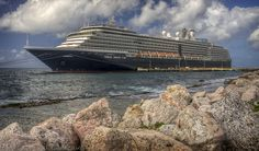Holland America, MS Noordam in Curacao by Phil Comeau, via Flickr