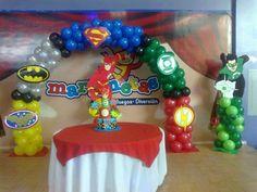 arco de superheroes