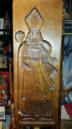 Sinterklaas speculaasplank, museum indezevendehemel te Apeldoorn